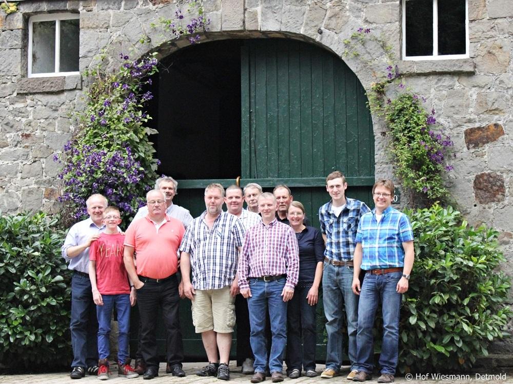 Assemblée Générale 2014 à la ferme Wiesmann à Detmold