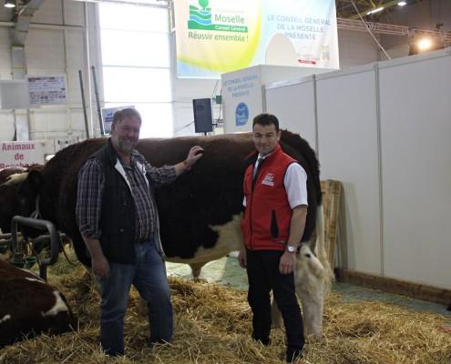 Directoire de la Maine-Anjou associations France et l'Allemagne sur 11/7/2014 sur le Salon Agricole Agrimax Metz