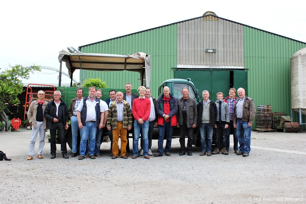 Mitglieder des MAVD zur JHV 2015 in Duisburg